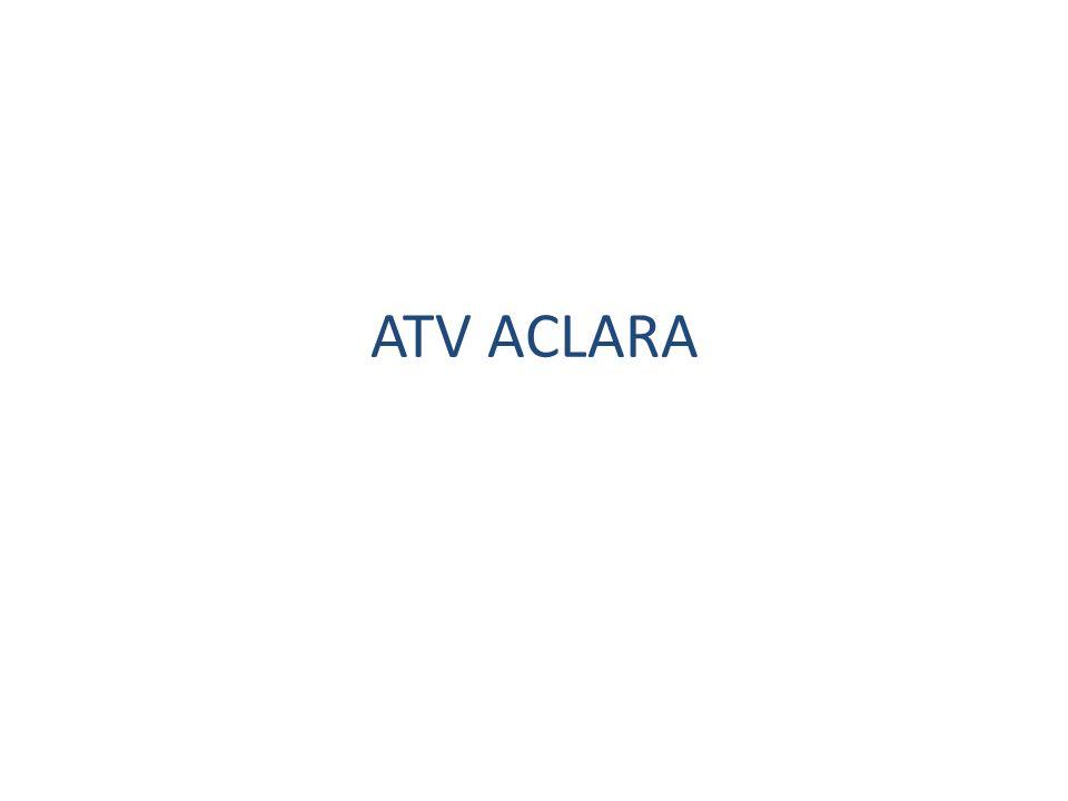 ATV ACLARA