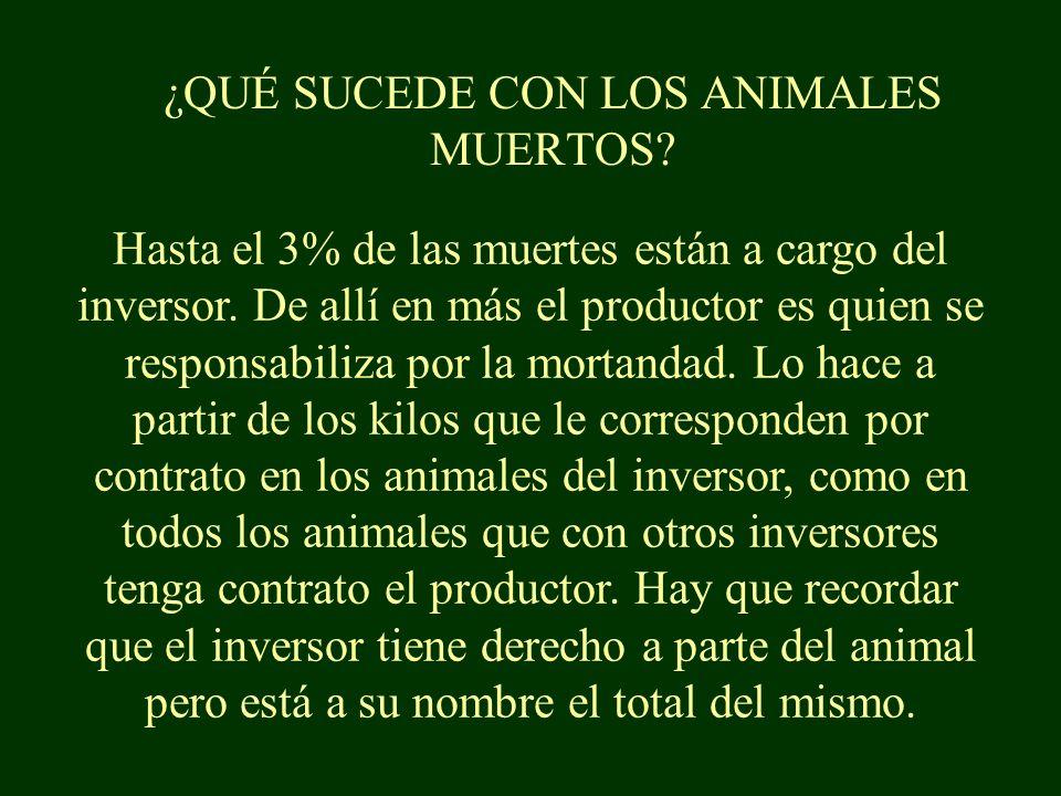 ¿Y SI EL ANIMAL NO GANA LOS 5 KILOS.