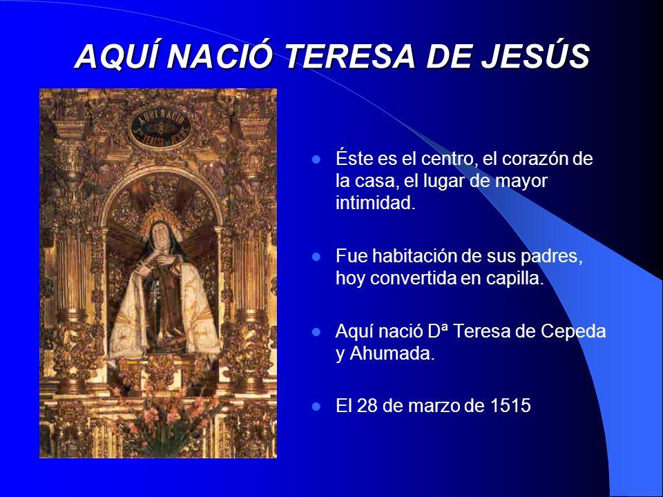 San José, primera fundación teresiana mandóme mucho Su Majestad procurase hacer el monasterio...