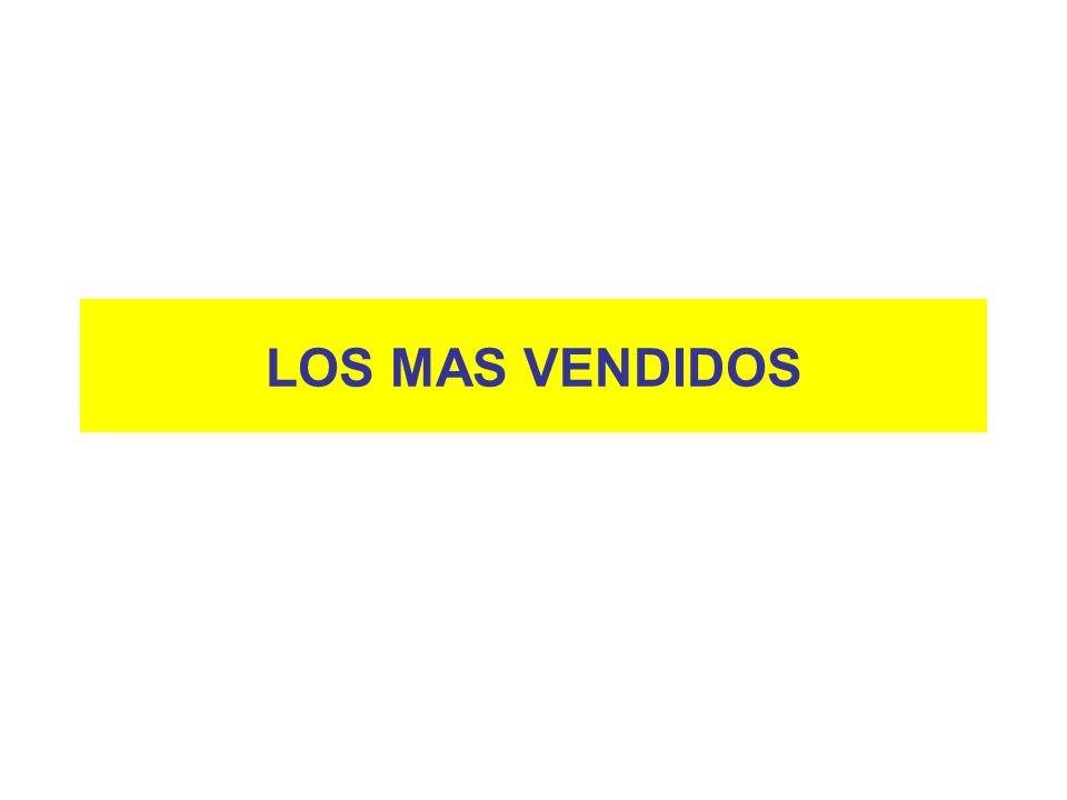 LOS MAS VENDIDOS