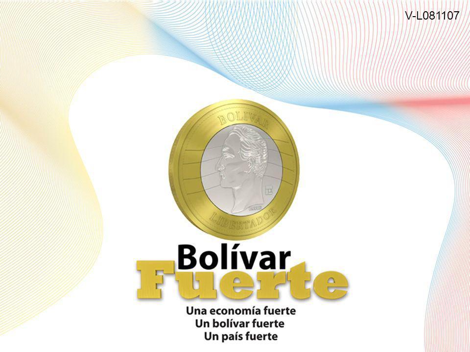 LA RECONVERSIÓN MONETARIA EN VENEZUELA Banco Central de Venezuela 1 V-L081107