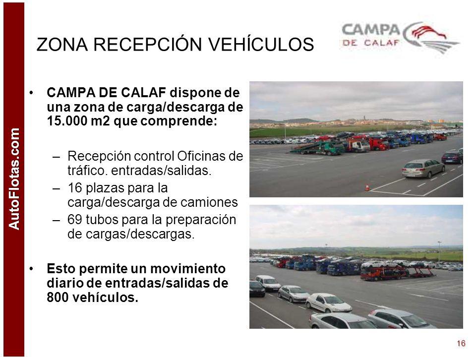AutoFlotas.com 15 CALIDAD : En la actualidad CAMPA DE CALAF, S.A. se encuentra en proceso de certificación de Calidad en base a la norma ISO 9001:2000