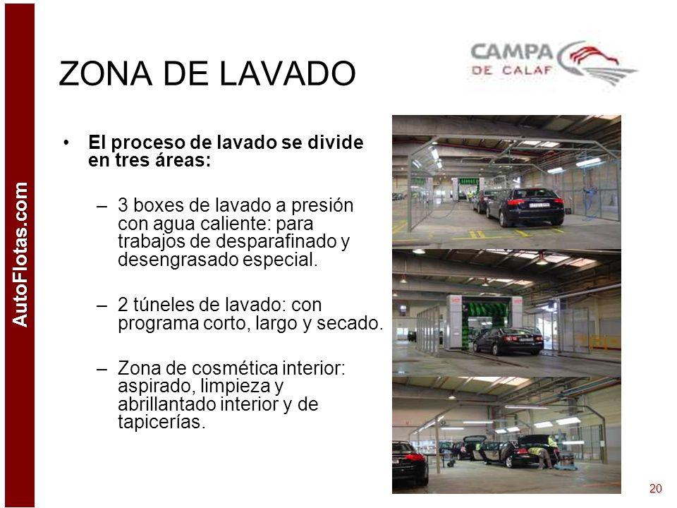 AutoFlotas.com 19 TALLER CHAPA Y PINTURA Autoclever-Calaf es una empresa especializada en el diseño, desarrollo y gestión de talleres para automóviles