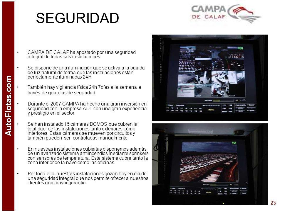 AutoFlotas.com 22 PROYECTO FERROVIARIO La ubicación estratégica de CAMPA DE CALAF hace posible el proyecto ferroviario. Desde sus inicios en 2004 CAMP