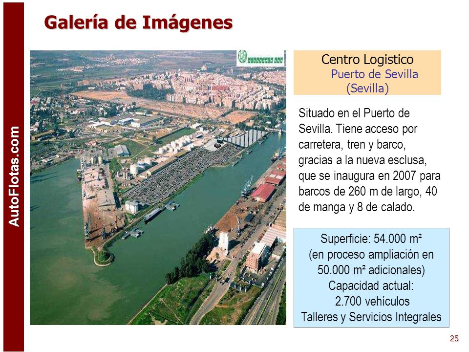 AutoFlotas.com 24 Centro Logistico Soto del Real (Madrid) Situada en Soto del Real, este centro logístico está bien comunicado con la autopista A-1 (M