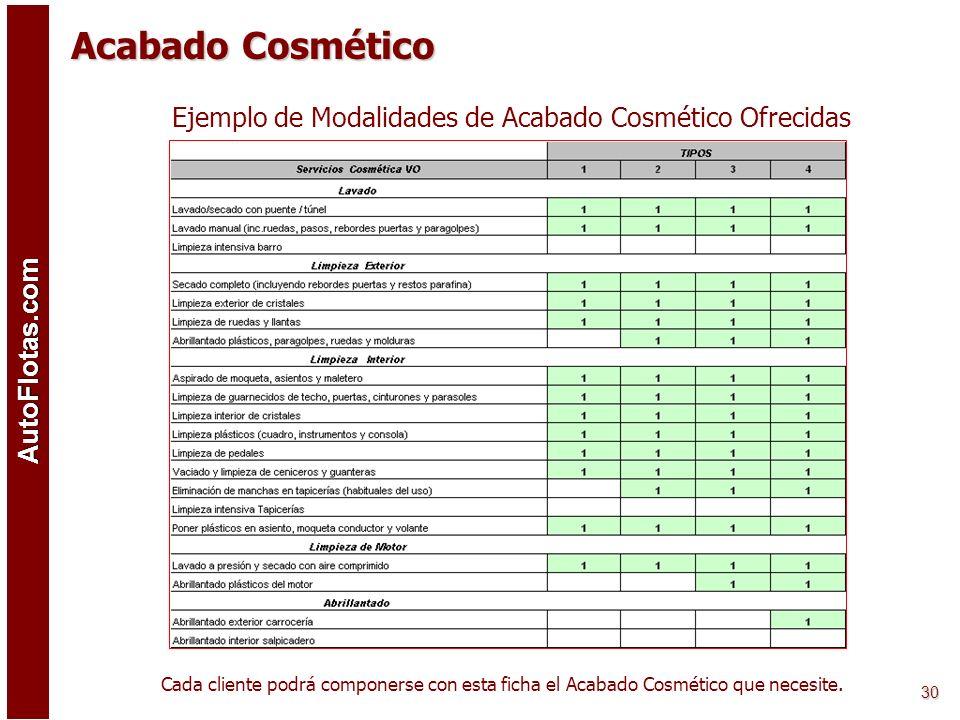 AutoFlotas.com 29 Localización y Servicios de Talleres Carrocería AutoFlotas.com está en condiciones de ofrecer servicios estandarizados de reparación