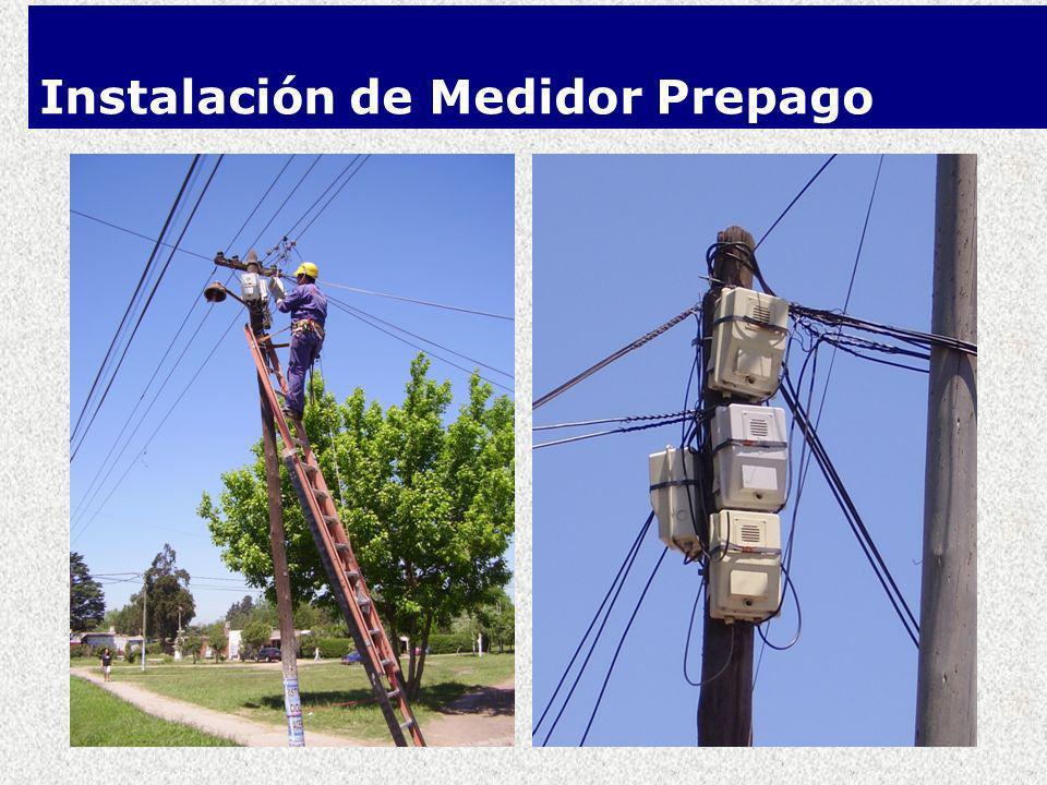 Instalación de Medidor Prepago