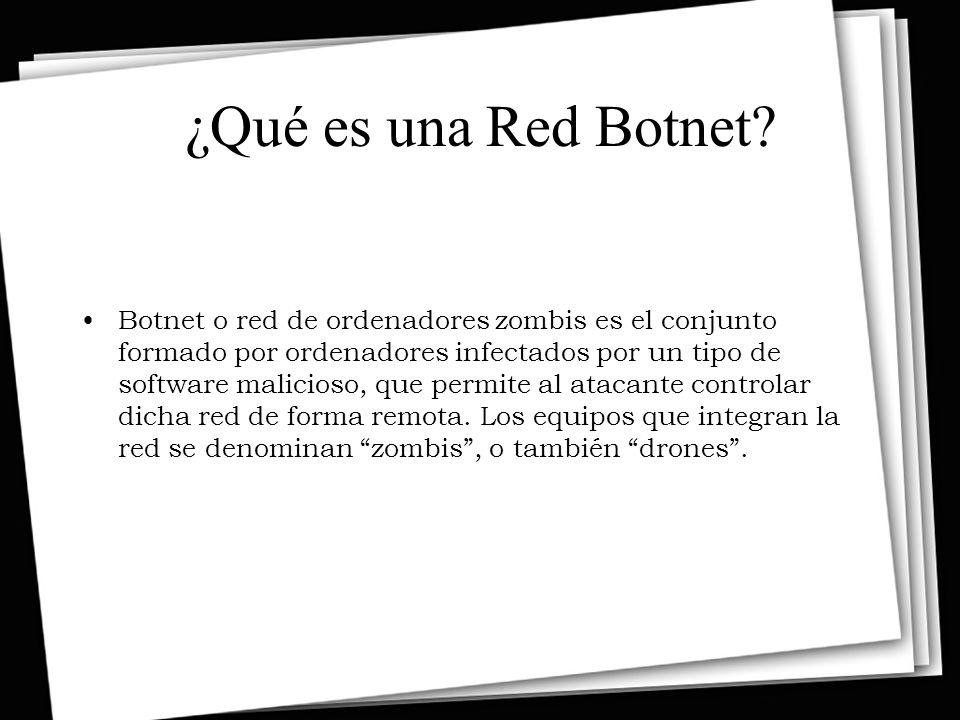 ¿Qué es una Red Botnet.