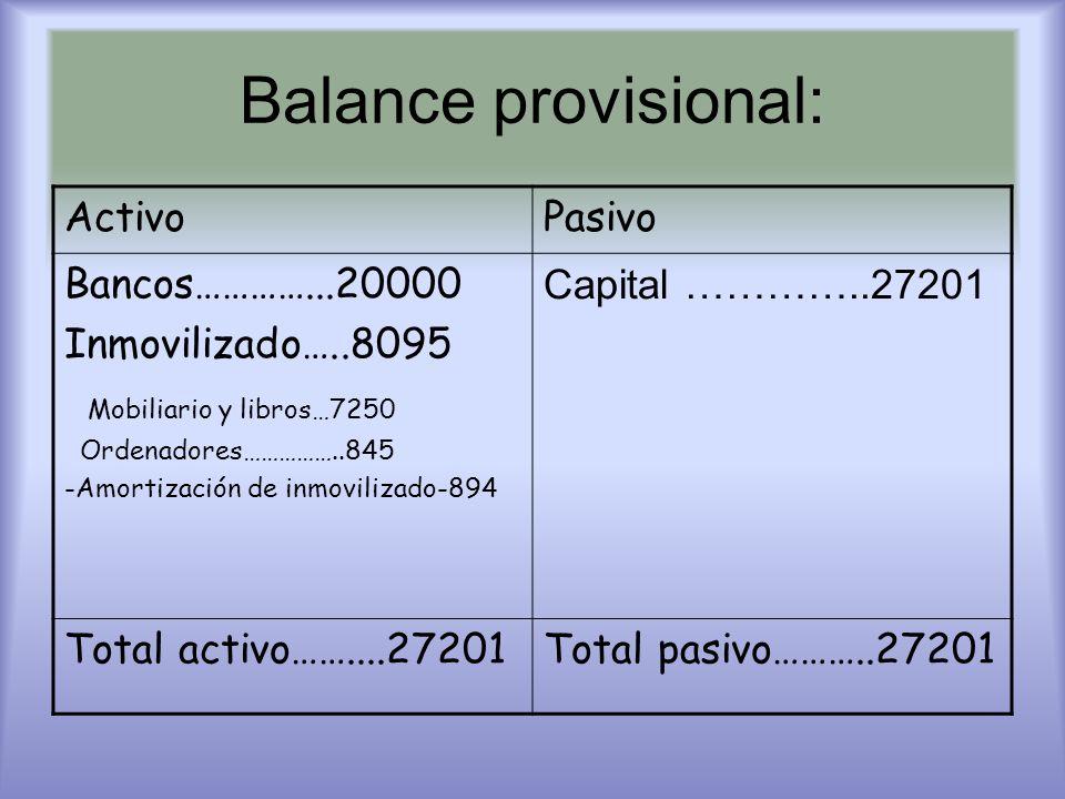 Costes Publicidad + luz + agua + teléfono + Internet + seguridad social + sueldos + gastos de constitución + comida + amortización = 153.563 euros el