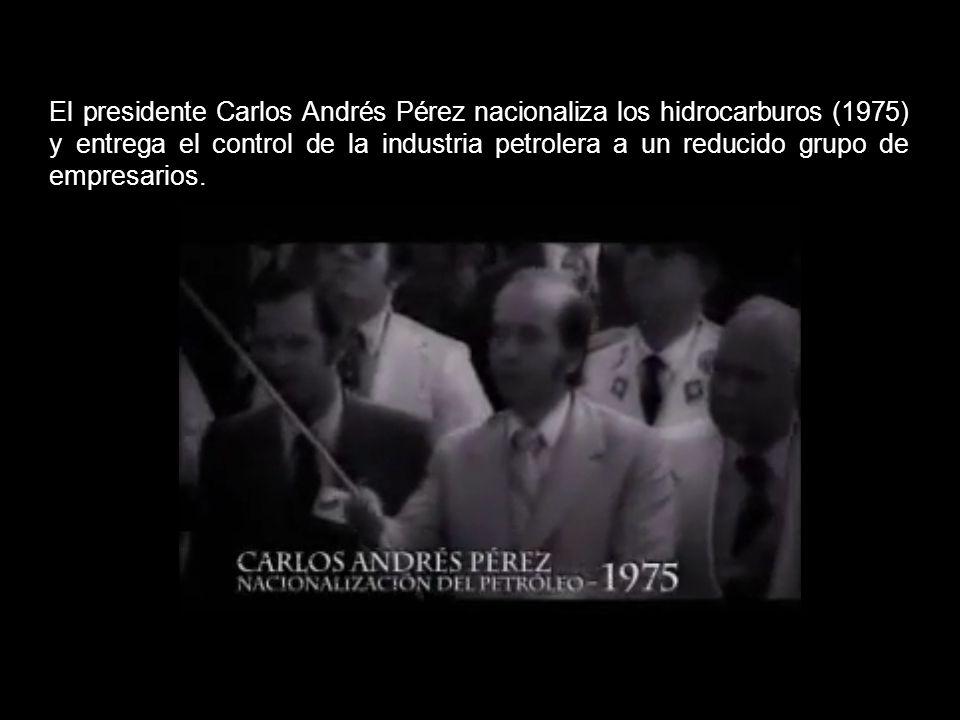 Los venezolanos abandonamos los campos, la agricultura se vino abajo, y toda la economía productiva se vino abajo. Venezuela se convirtió algo así com