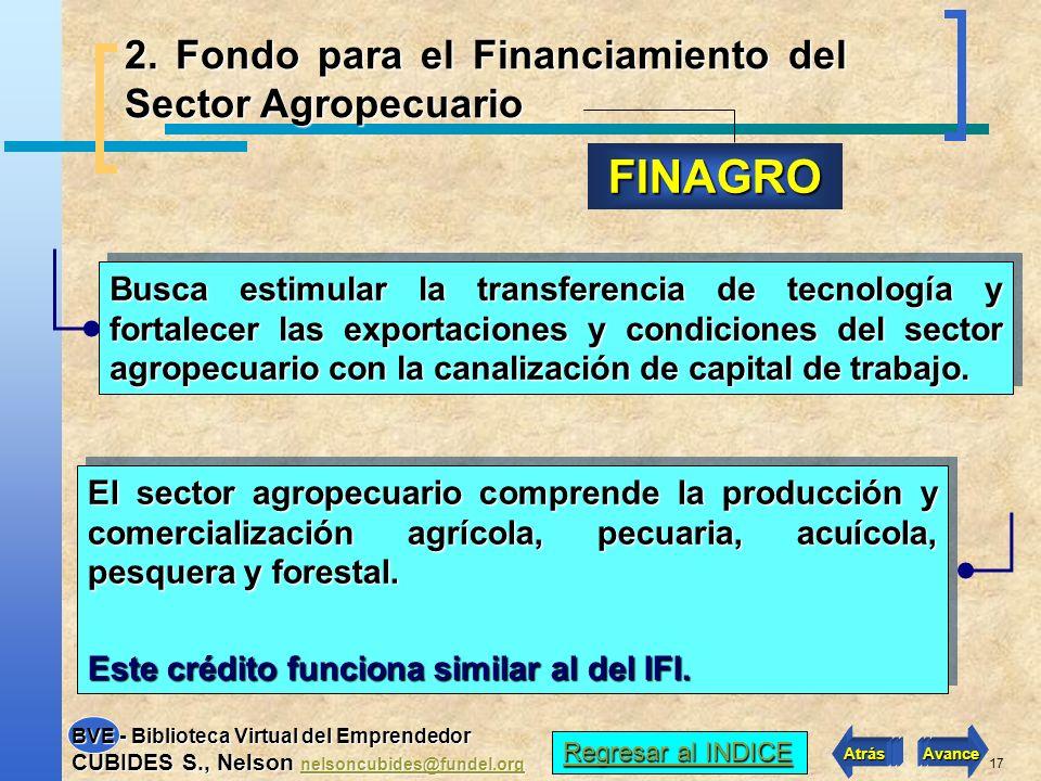16 ¿Cómo ofrecer garantías al banco por un préstamo del IFI o del Estado ? Una solución es acudir al Fondo Nacional de Garantías (FNG), cuya cobertura