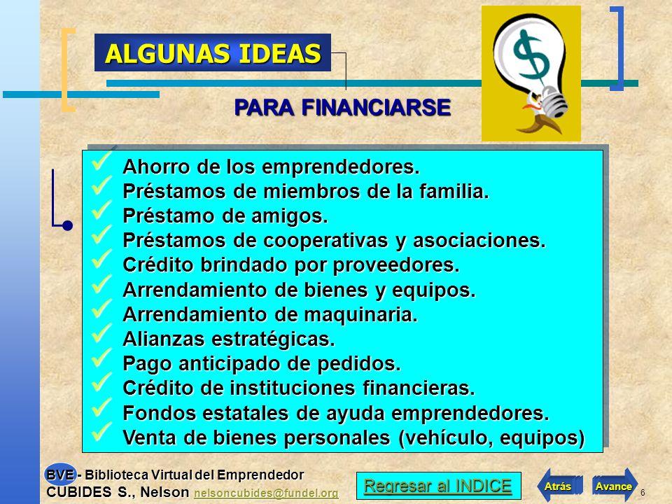 16 ¿Cómo ofrecer garantías al banco por un préstamo del IFI o del Estado .
