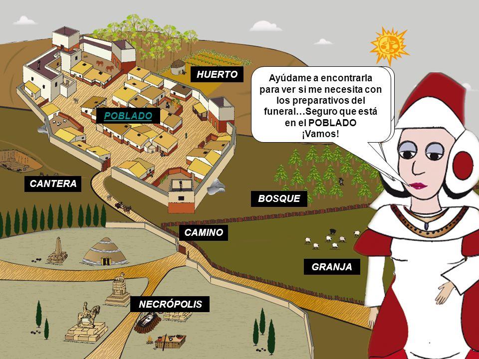 En este pequeño pueblo nací y viví hace muchos años … ¡Hace más de 2000 años! Ahora los arqueólogos han encontrado y desenterrado nuestra aldea. Graci