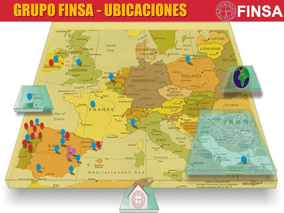 GRUPO FINSA - UBICACIONES