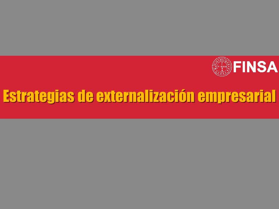 Estrategias de externalización empresarial