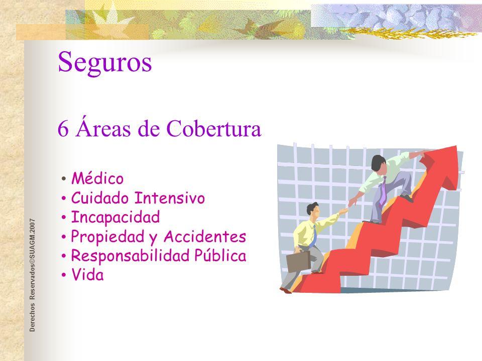 Derechos Reservados©SUAGM.2007 Manejo de Riesgo