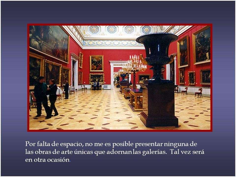 Catalina se dedicó, además de a la construcción del complejo arquitectónico que forma el actual Hermitage, a aumentar su colección de manera important