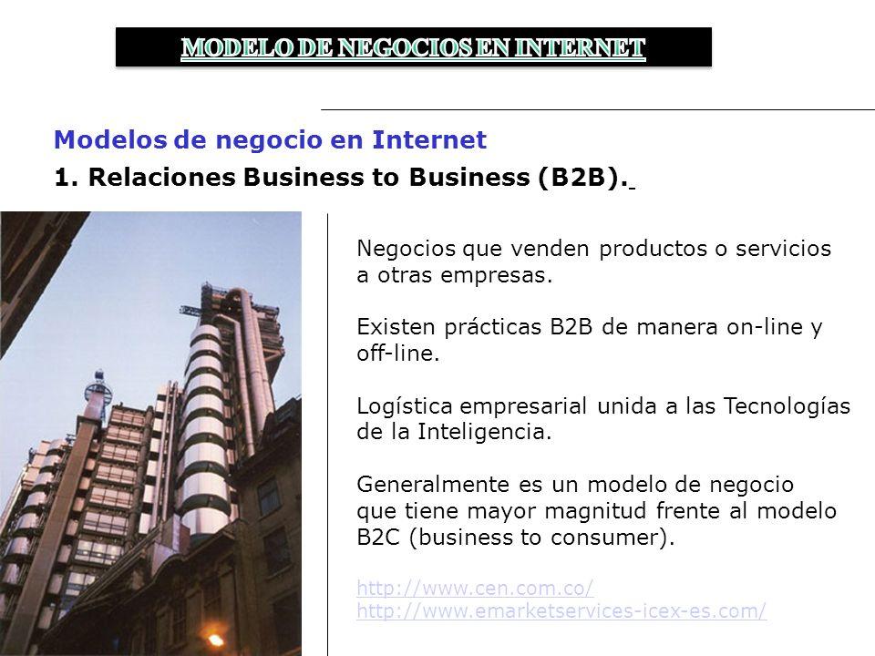 2.Relaciones Business to Consumer (B2C).