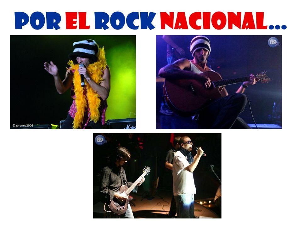 Por el rock nacional…