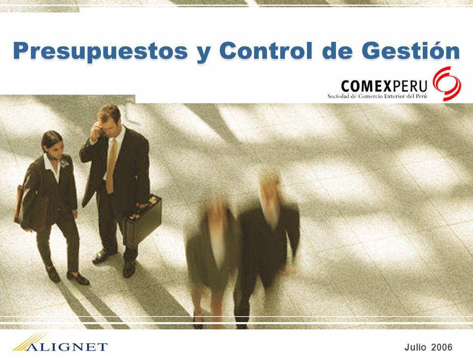 Julio 2006 Presupuestos y Control de Gestión
