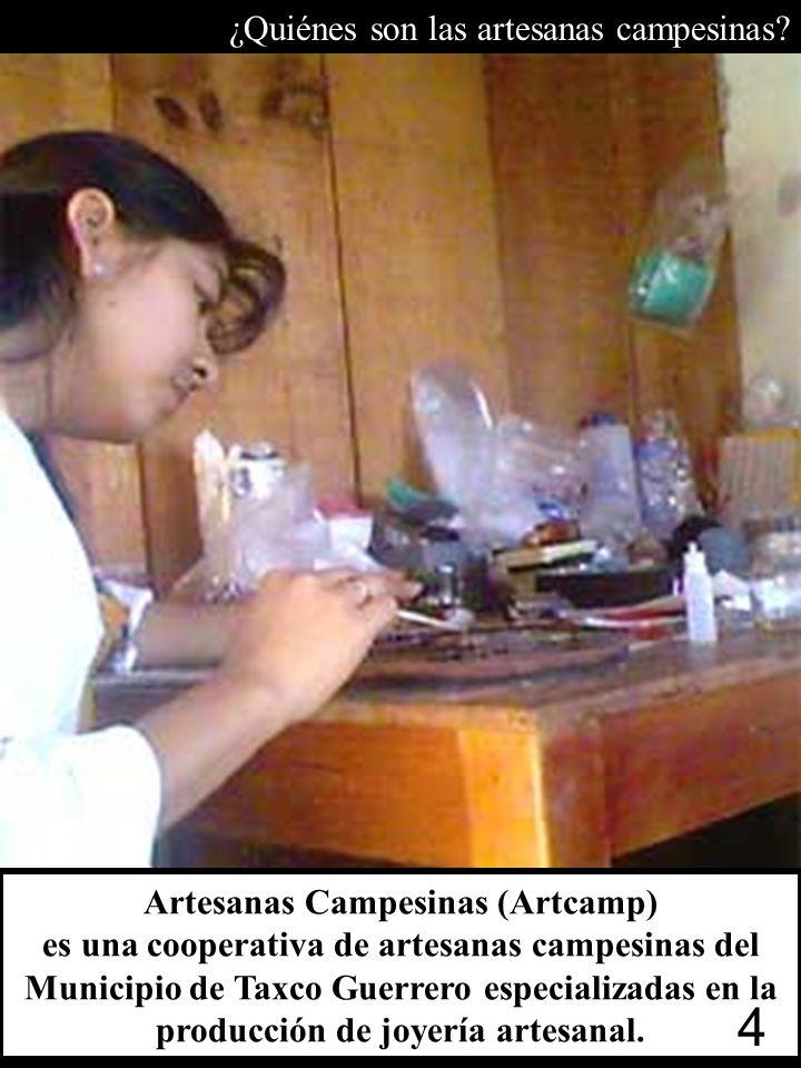 http://www.lumika.org/mexico.htm http://www.bizpresenter.com ¿Quiénes son las artesanas campesinas? 4 Artesanas Campesinas (Artcamp) es una cooperativ