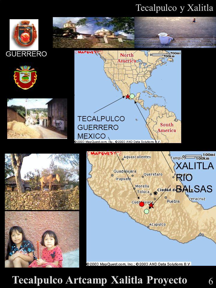 22º C GUERRERO Tecalpulco y Xalitla 6 Tecalpulco Artcamp Xalitla Proyecto TECALPULCO GUERRERO MEXICO XALITLA RIO BALSAS