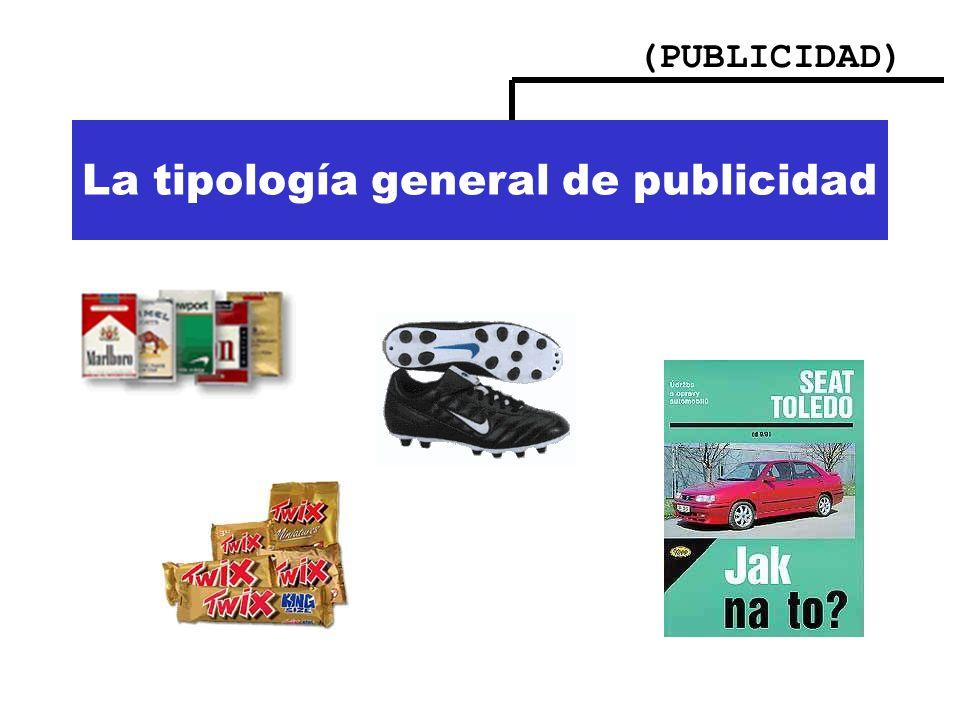 (PUBLICIDAD) Importancia de la publicidad La tipología general de publicidad