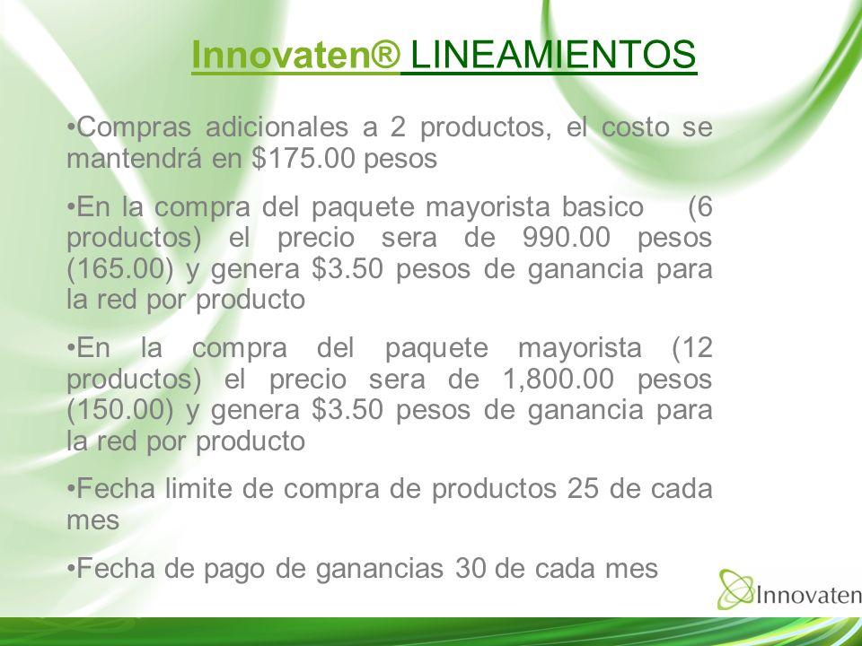 Compras adicionales a 2 productos, el costo se mantendrá en $175.00 pesos En la compra del paquete mayorista basico (6 productos) el precio sera de 99