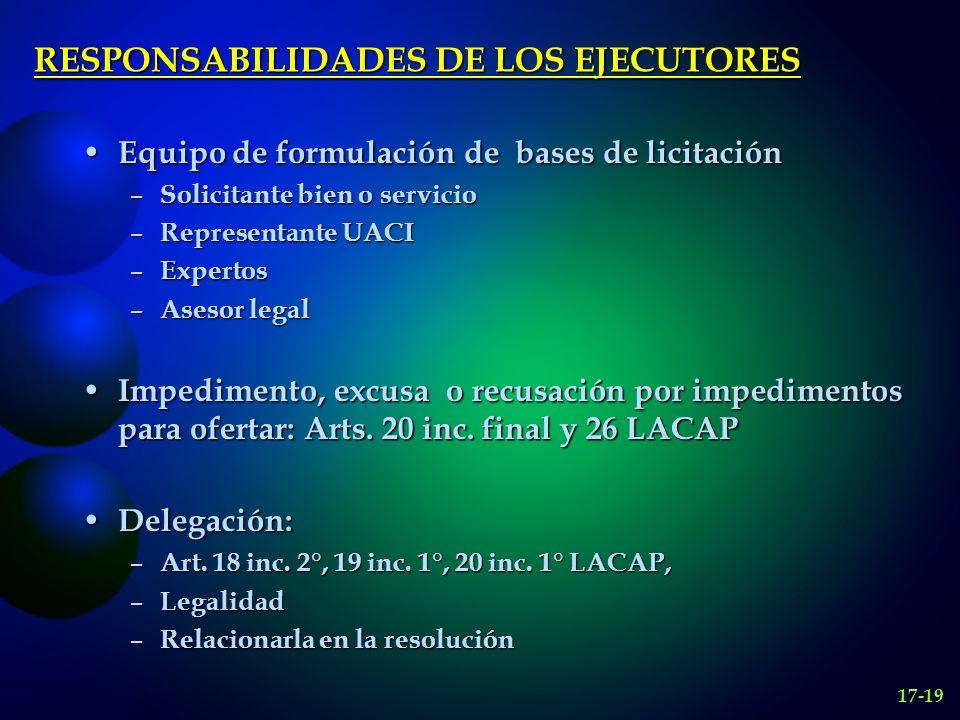 LAS BASES DE LICITACION Roberto Dromi en Licitación Pública lo define como el conjunto de cláusulas formuladas unilateralmente por el licitante.