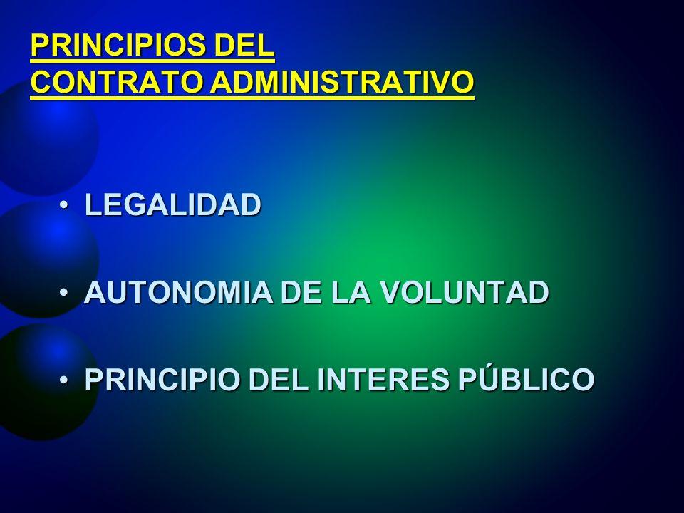 LA LICITACION PUBLICA: PRINCIPIOS Libre ConcurrenciaLibre Concurrencia IgualdadIgualdad PublicidadPublicidad TransparenciaTransparencia