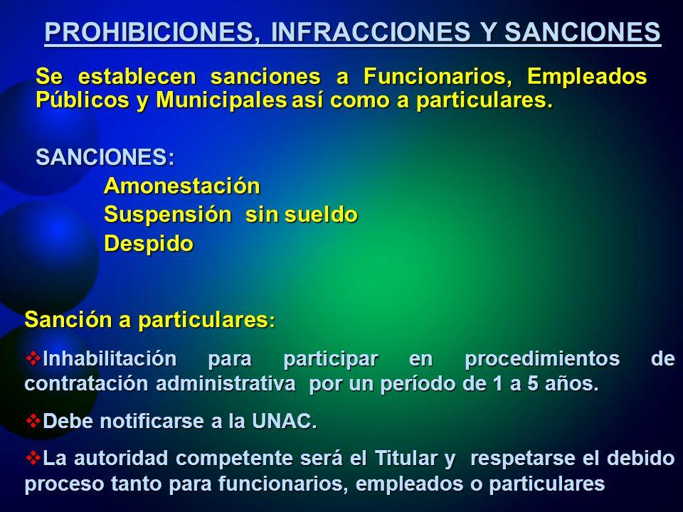 REGIMEN SANCIONATORIO DE LA LACAP CONSTITUCIÓNCONSTITUCIÓN –Art.