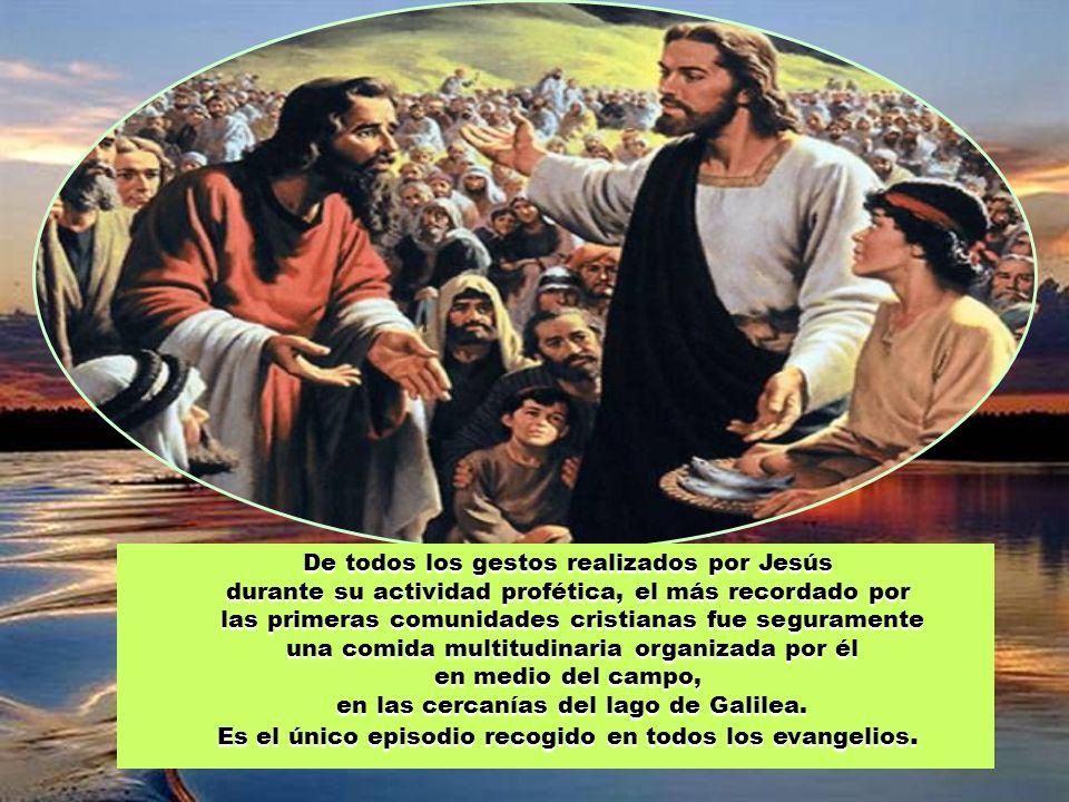 29 de julio de 2012 17 Tiempo ordinario (B ) Juan 6,1-15 Red evangelizadora BUENAS NOTICIAS Difunde la solidaridad con los hambrientos Pásalo.