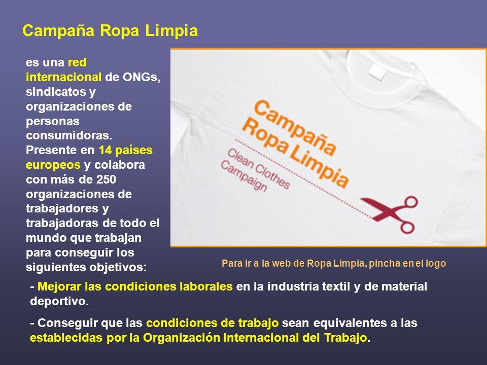 Juega Limpio es una campaña internacional dentro de la Campaña Ropa Limpia que, con motivo de los Juegos Olímpicos, promueve el respeto de los derechos de las personas trabajadores de la industria productora de artículos deportivos a nivel mundial.
