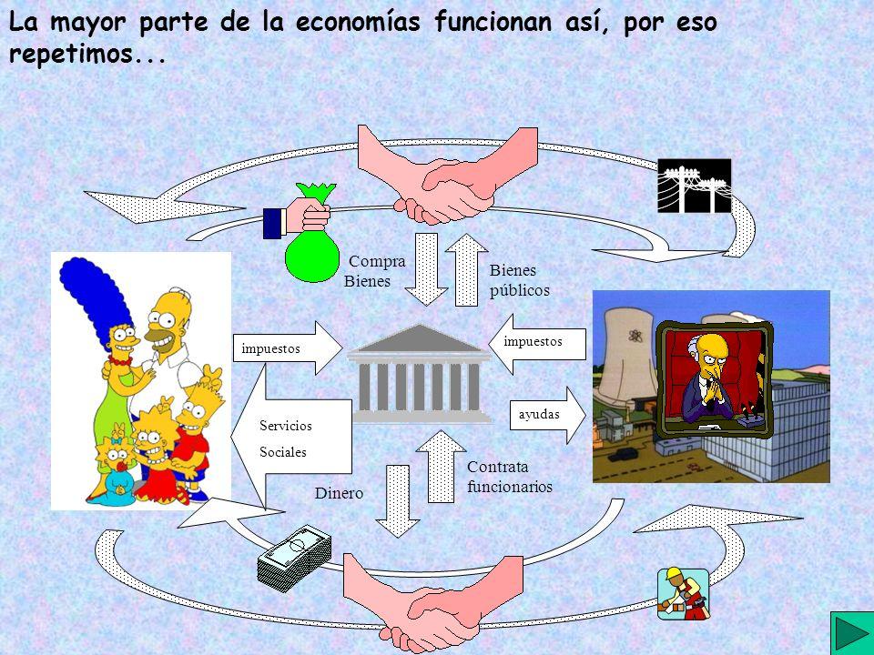 La mayor parte de la economías funcionan así, por eso repetimos...