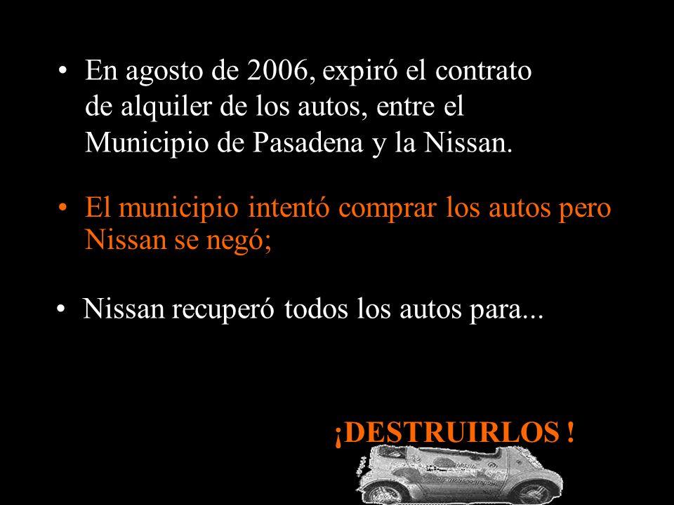 En 1997, Nissan presentó el modelo eléctrico Hypermini en el salón de Tokyo.