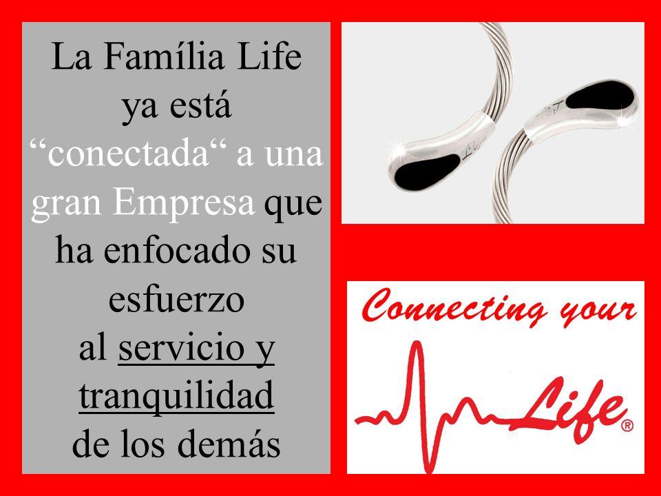 La Família Life ya está conectada a una gran Empresa que ha enfocado su esfuerzo al servicio y tranquilidad de los demás