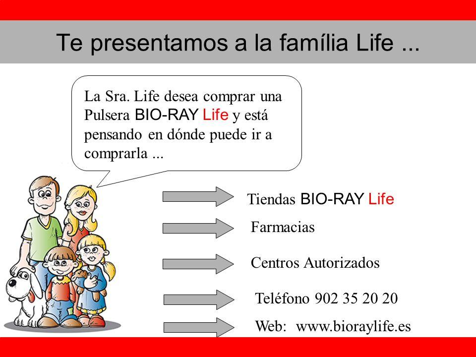Te presentamos a la família Life...La Sra.