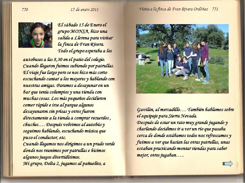 750 15 de enero 2011 Visita a la finca de Fran Rivera Ordóñez 751 Gavilán, al mercadillo….