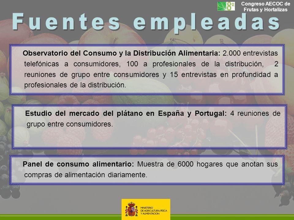 Observatorio del Consumo y la Distribución Alimentaria: 2.000 entrevistas telefónicas a consumidores, 100 a profesionales de la distribución, 2 reunio