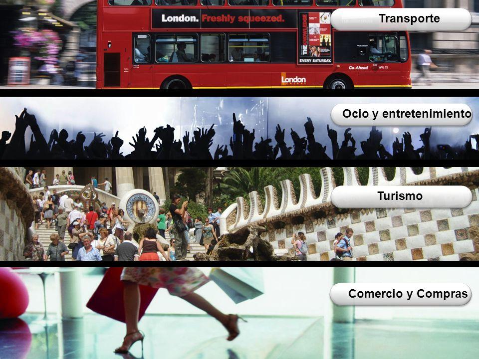 Industria, Distribución y Servicios Telefónica Grandes Clientes 15 Transporte Turismo Comercio y Compras Ocio y entretenimiento