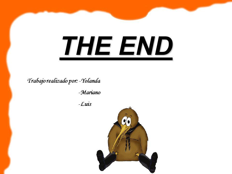 THE END Trabajo realizado por: -Yolanda -Mariano -Luis