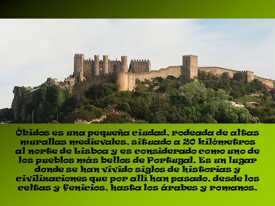 El nombre de Óbidos deriva del latín oppidum y significa «ciudadela», «ciudad fortificada».