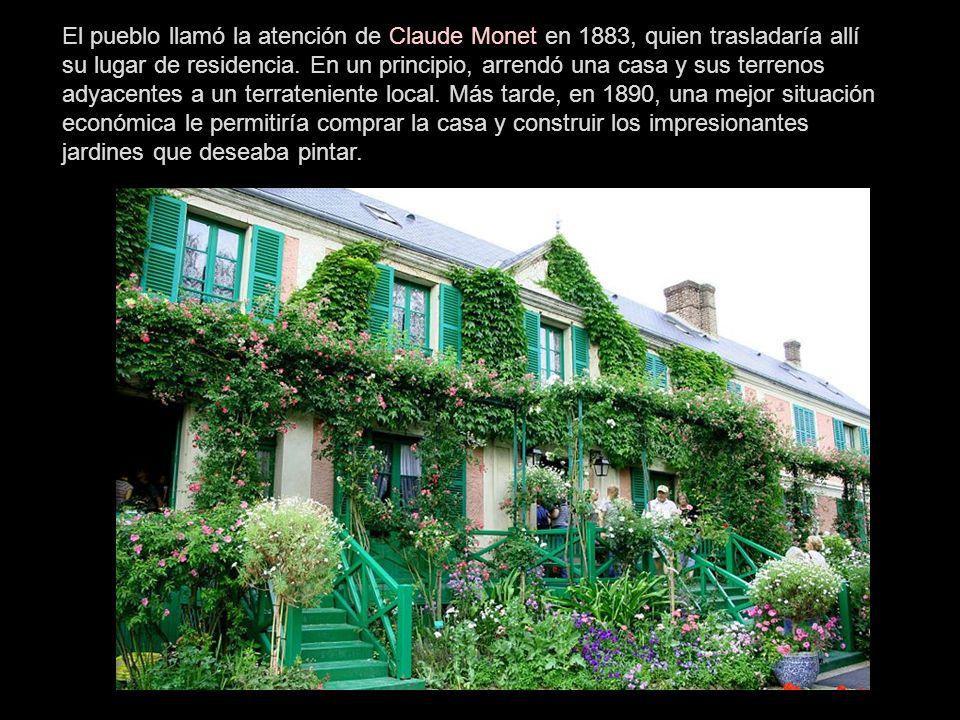 Giverny es una localidad y comuna francesa situada en la región de Alta Normandía, departamento de Eure, en el distrito de Les Andelys y cantón de Écos.