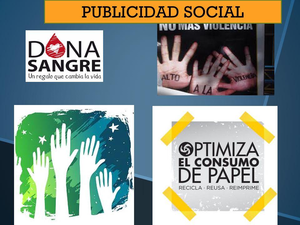 PUBLICIDAD SOCIAL