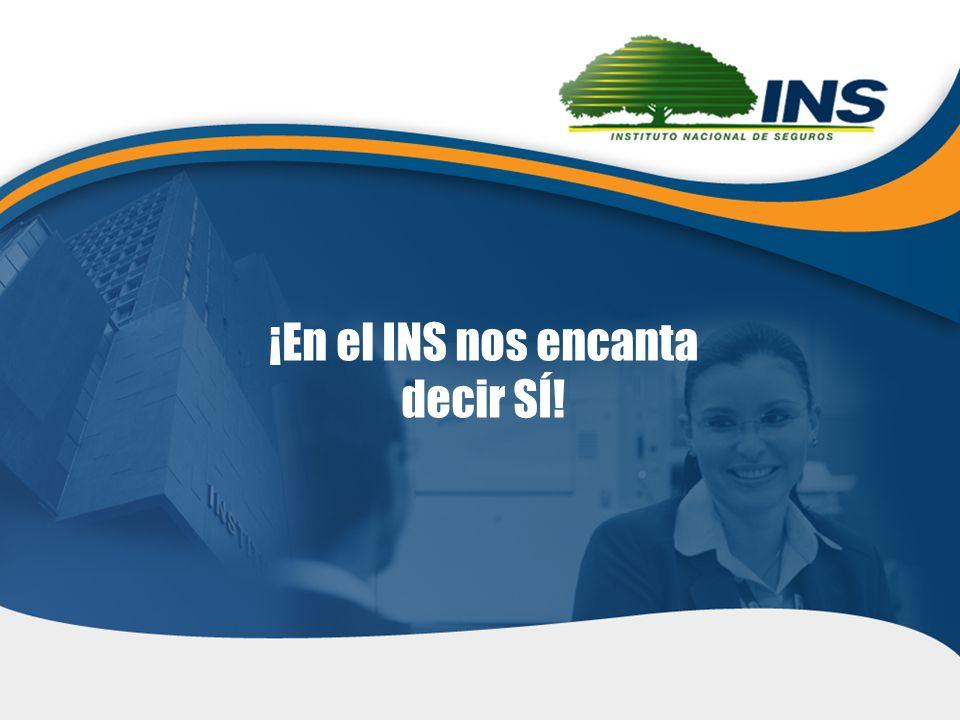 20 28 de octubre de 2011 ¡En el INS nos encanta decir SÍ!