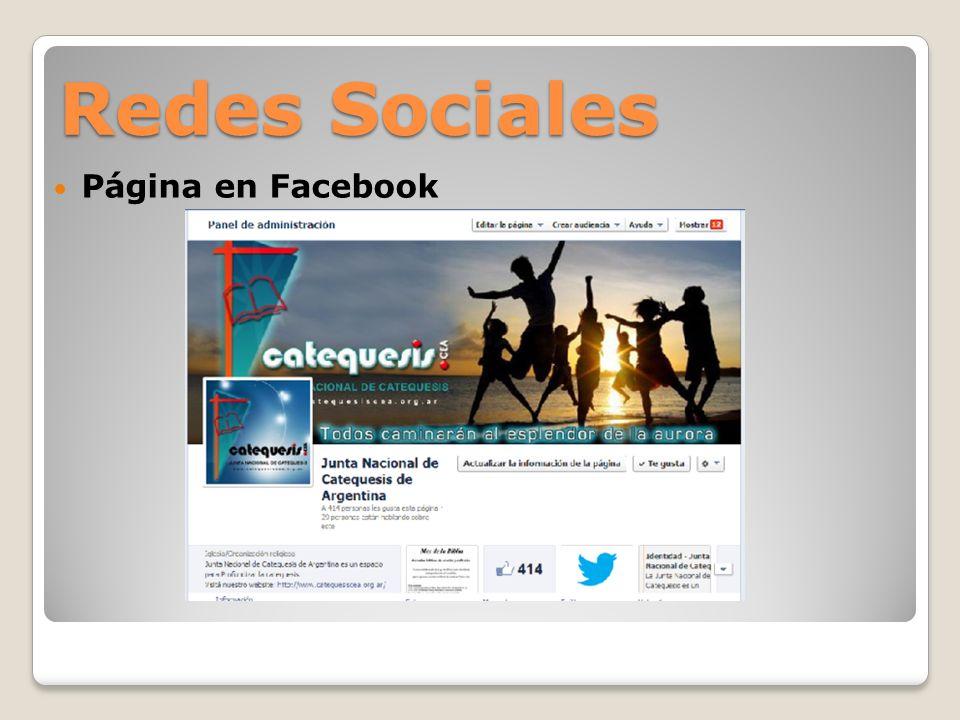 Redes Sociales Perfil en Twitter