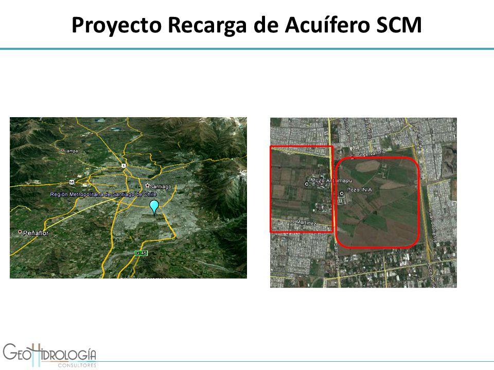 Proyecto Recarga de Acuífero SCM