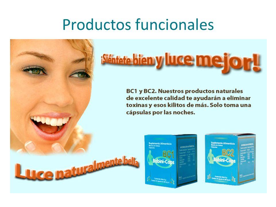 Productos funcionales