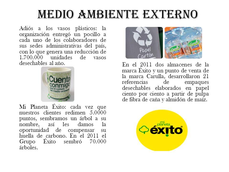 MEDIO AMBIENTE EXTERNO Adiós a los vasos plásticos: la organización entregó un pocillo a cada uno de los colaboradores de sus sedes administrativas de