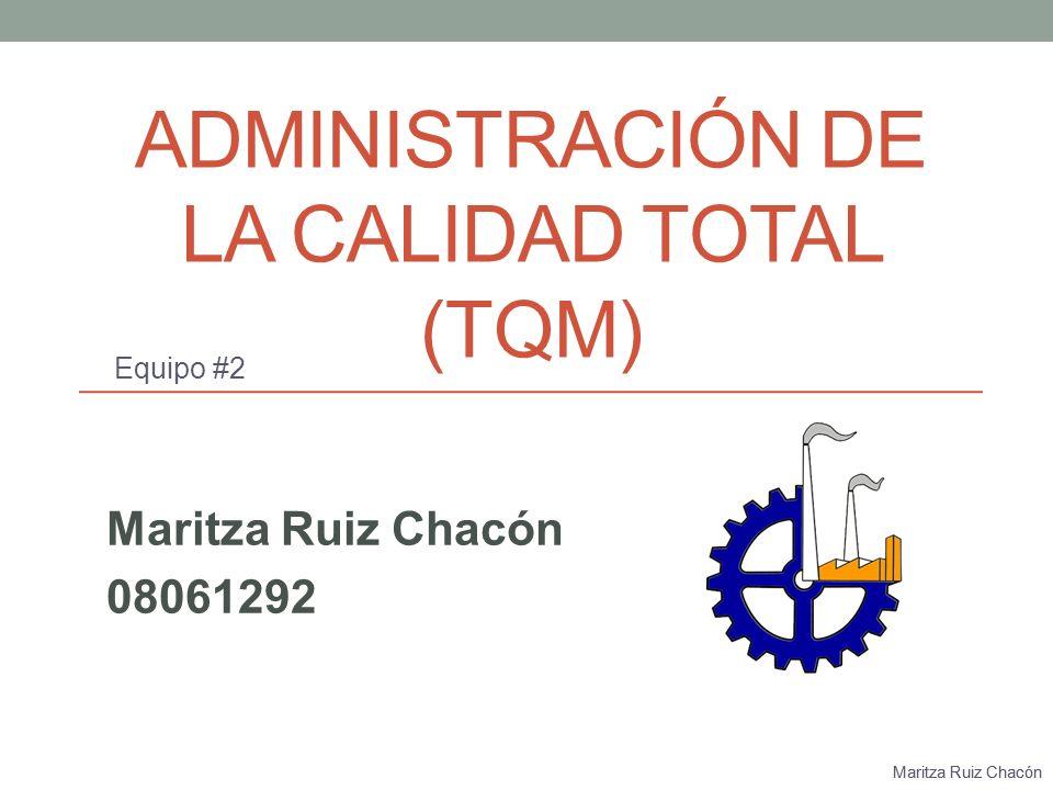 Maritza Ruiz Chacón Departamentos de una organización Recursos Humanos Ventas Recursos Financieros Producción/Manufactura Calidad Mantenimiento Compras Ingeniería Diseño